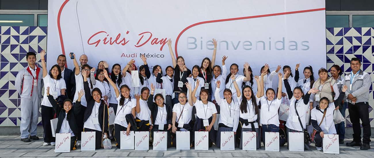 Audi Girls Day En México Entusiasmar A Las Jóvenes Para - Day audi
