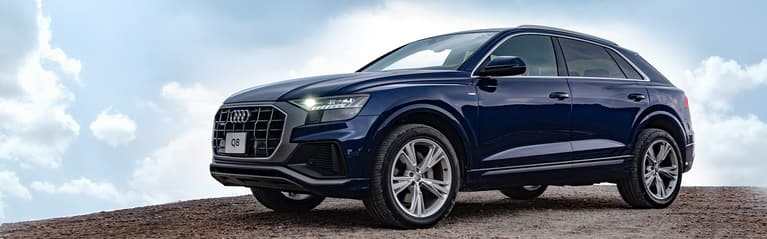 Audi Q8. Welcome to the 8th dimension.